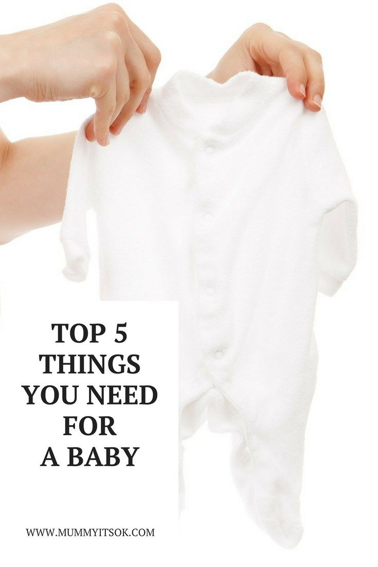 5 Things You Need For a Baby - the best products you need for your baby & newborn.