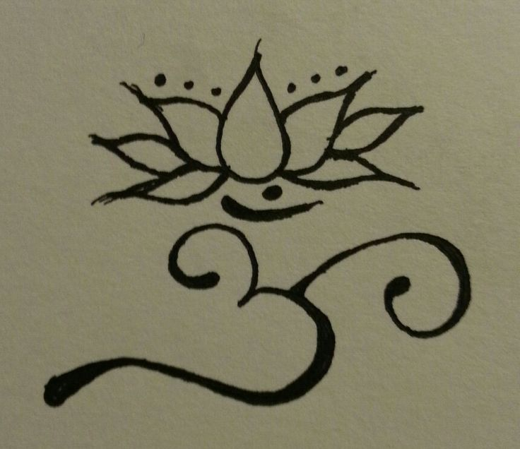 om Design Flower om Lotus Tattoo Design Rp88
