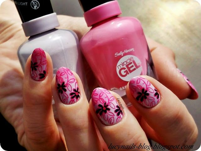 Sally Hensen Miracle Gel All Chalked Up nr 230 i Shock Wave nr 310