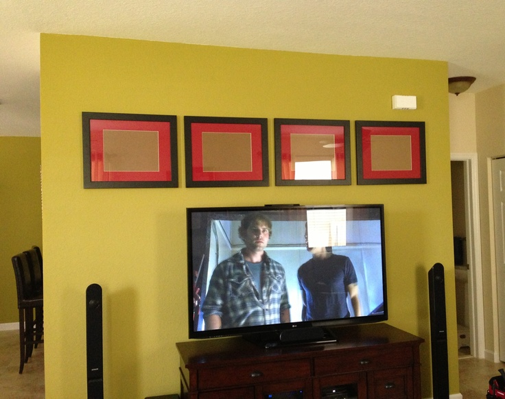 Wall Decor Above The Tv : Images about tv wall decor on