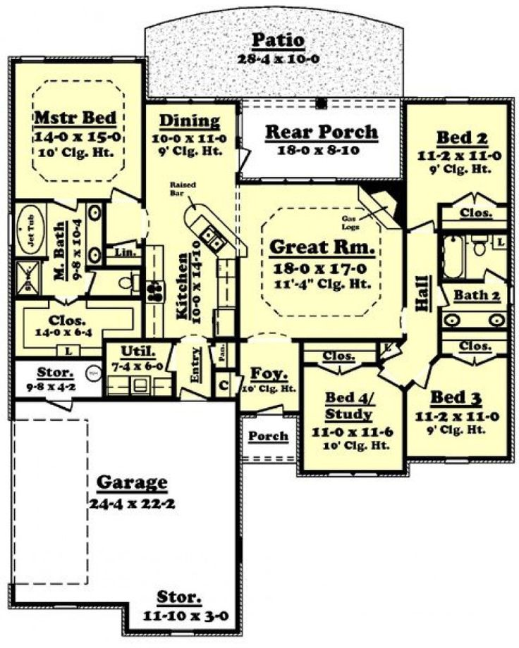 342 best perfect house plans images on pinterest