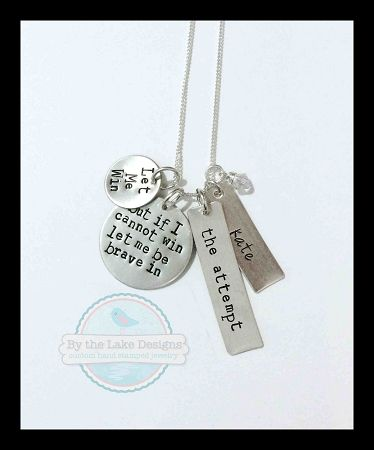 Special Olympics Oath necklace