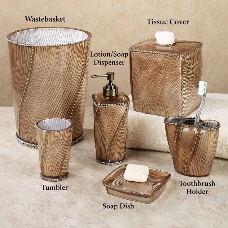 123 best Home Decor: Bathroom Vanity Accessories images on ...