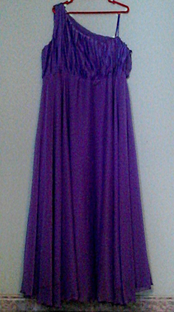 Vestido de noche talla grande 2
