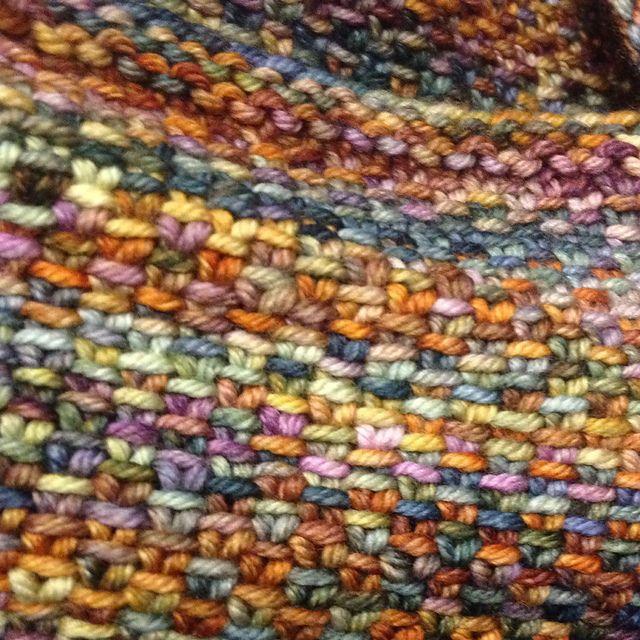 Linen Stitch Cowl by Carly Stipe   malabrigo Arroyo in Piedras