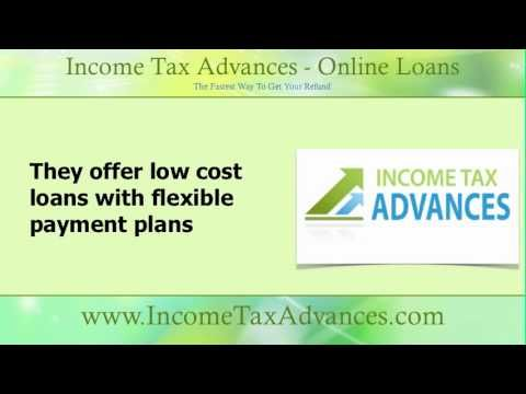 Low cost loans with flexible payment plans are available through online lenders. Apply at www.IncomeTaxAdvances.com #taxloans #onlineloans
