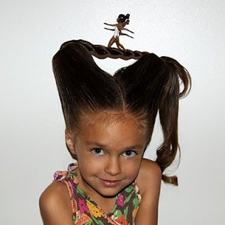 Fun Idea For Crazy Hair Day At School! Http