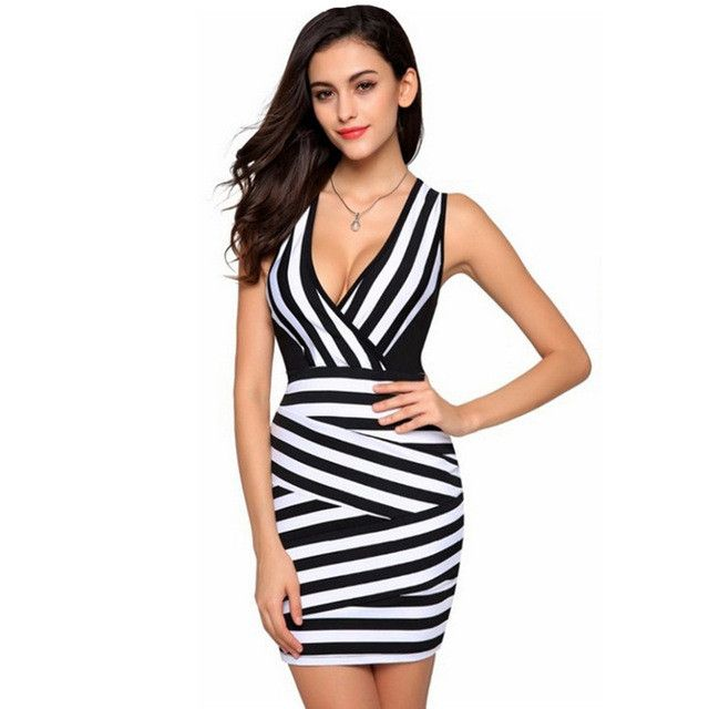 Design Western Style Women Dress Sleeveless Sexy Dresses For Ladies Womens Sexy Dresses Party Night Club Dress Black White