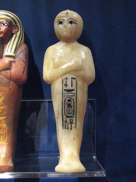 Tesoro de Tutankhamon. Figuritas Ushabti.