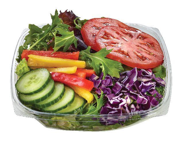 Freshly made Garden Salad from #YummyMarket
