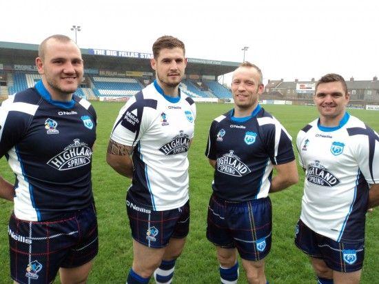 Not sure about Scotland's kit design, it's all over the place. Tartan Kilt shorts?