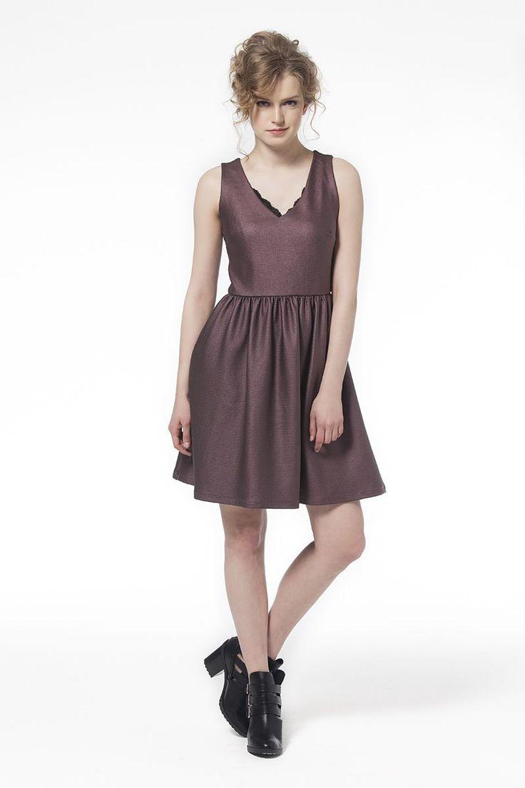 Elbise Bordo Elbise Bordo Elbise En Trend Elbiseler 69,90 TL