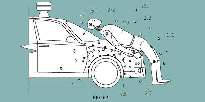 Google patentó un sistema que adhiere a los atropellados http://j.mp/1XNTcnK    #CocheAutónomo, #Google, #Noticias, #SeguridadVial, #Sobresalientes, #Tecnología