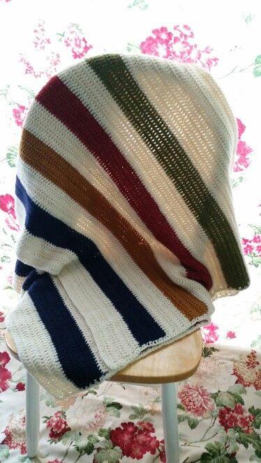 Cassandra ' s Hudson Bay blanket