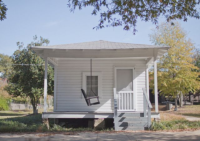Elvis Presley Birthplace in Tupelo, MS.