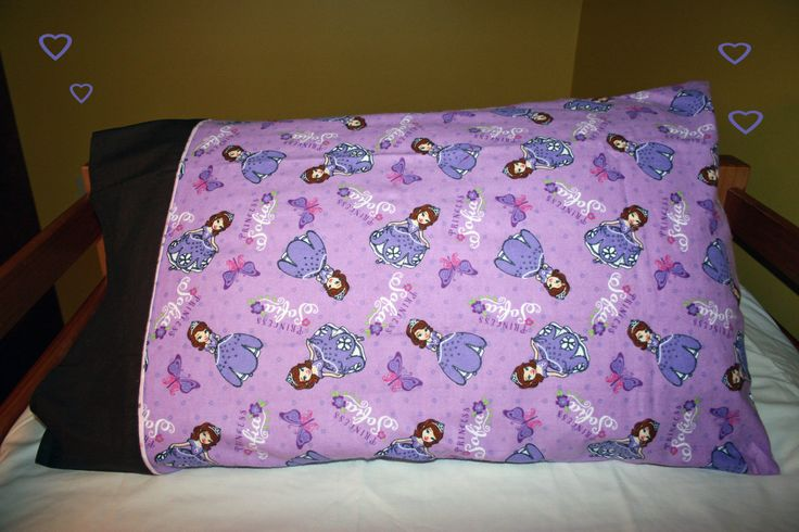 Disney's Princess Sofia Purple Pillow Case by SewnMyWay on Etsy