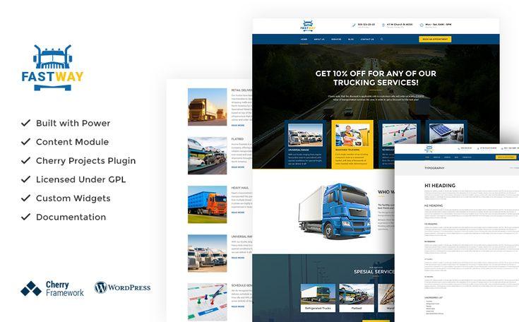 Expeditor - Logistics \ Transportation WordPress Theme Wordpress - expeditor resume