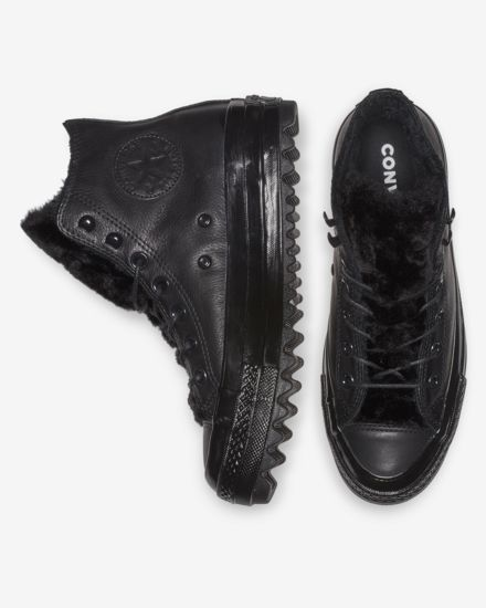 ca1307311b63f0 Converse Chuck Taylor All Star Street Warmer Ripple High Top Boot Women s  Leather Boot