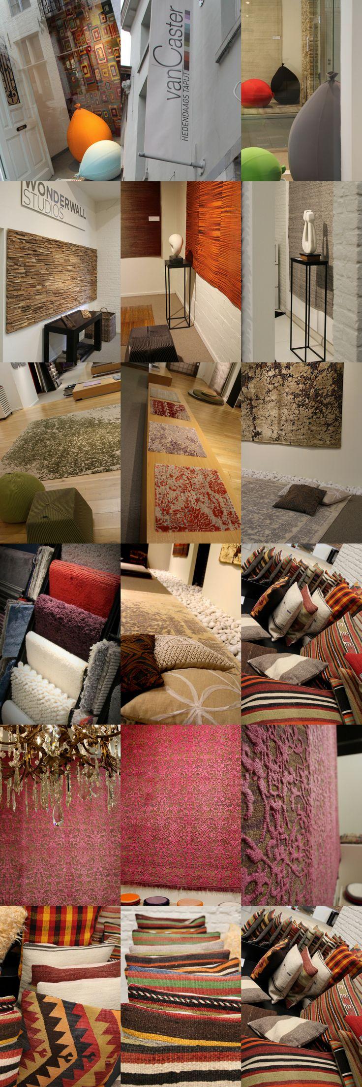 Met een heel groot aanbod aan hedendaagse tapijten voorziet Van Caster de Mechelse binnenstad van één van de mooiste en meest unieke collecties aan vloer- en wandtapijten.