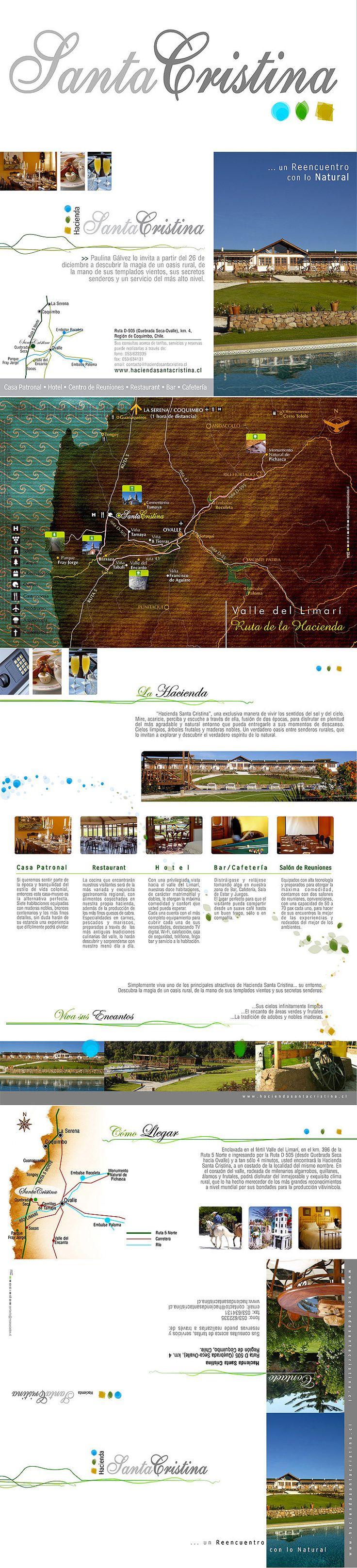 2007/Hacienda Santa Cristina on Behance #design #graphic #branding