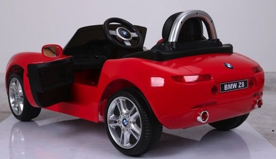 COCHES PARA NIÑOS BMW Z8 12V, RC, ROJO METALIZADO, IndalChess.com Tienda de juguetes online y juegos de jardin