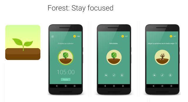 Crea y aprende con Laura: Forest, una app para combatir la adicción al móvil...