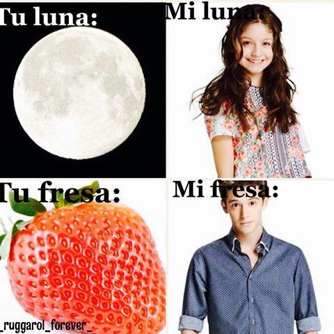 Resultado de imagen para tu luna mi luna tu fresa mi fresa