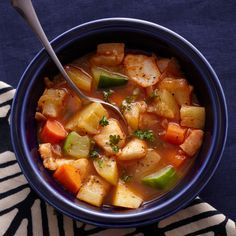 Tunisian Fish-and-Vegetable Stew Recipe - Quick From Scratch Fish & Shellfish | Food & Wine