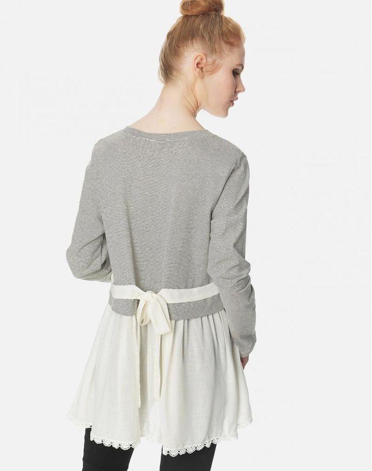 Μπλούζα με δέσιμο στην πλάτη