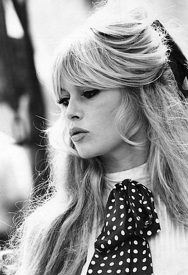 Brigitte Bardot Famous Bangs