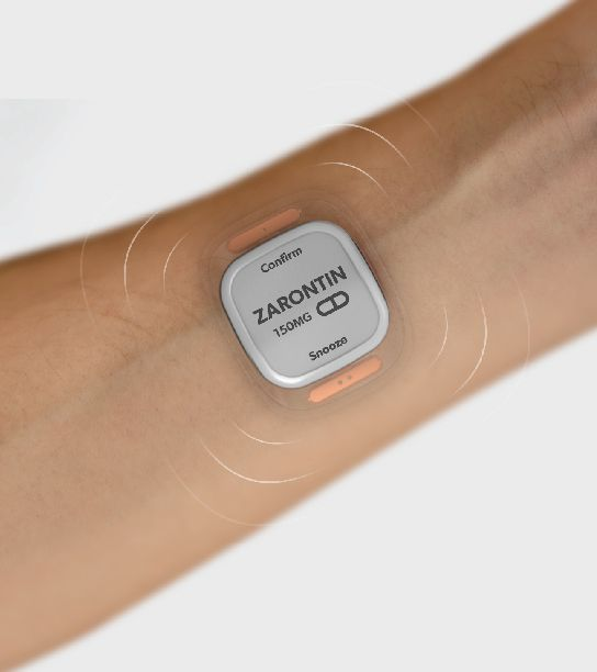 This one was in wired magazine a couple months ago, a wearable device for tracking personal health metrics for people with epilepsy. - Christine Wong