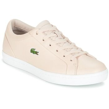 8fdbd92cafdf3 Sapatos Mulher Sapatilhas Lacoste STRAIGHTSET LACE Rosa