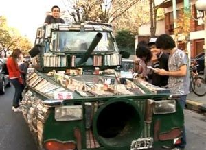 You could always get yourself a book tank.