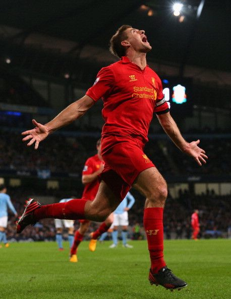 This is what it means to score for Liverpool Football Club.
