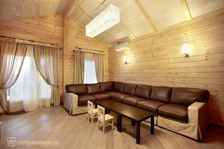Загородный дом в стиле прованс. Комната отдыха в гостевом доме