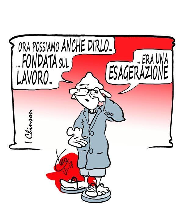 ITALIAN COMICS - La Vignetta d'Autore di Mario Airaghi: non c'è mai un limite al peggio...