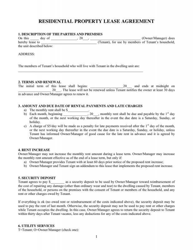Property Rental Agreement Check More At Https Nationalgriefawarenessday Com 29322 Property Rental Agreement