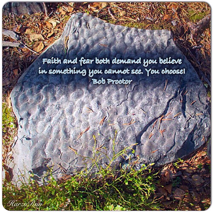 """""""Faith and fear both demand you believe in something you cannot see. You choose! Bob Proctor  Photo Harzu Run"""