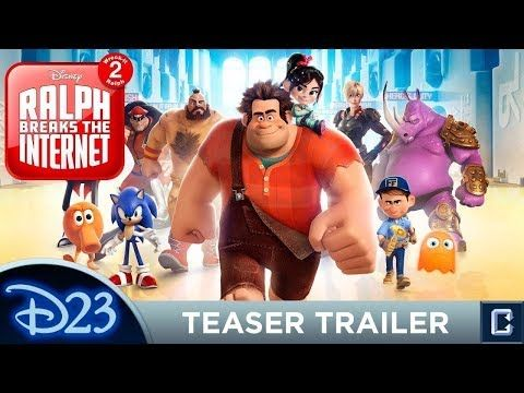 RALPH BREAKS THE INTERNET Official Movie HD Trailer 2018 ...