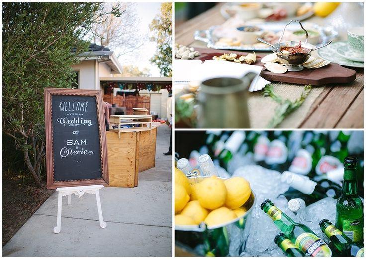 Backyard wedding Perth