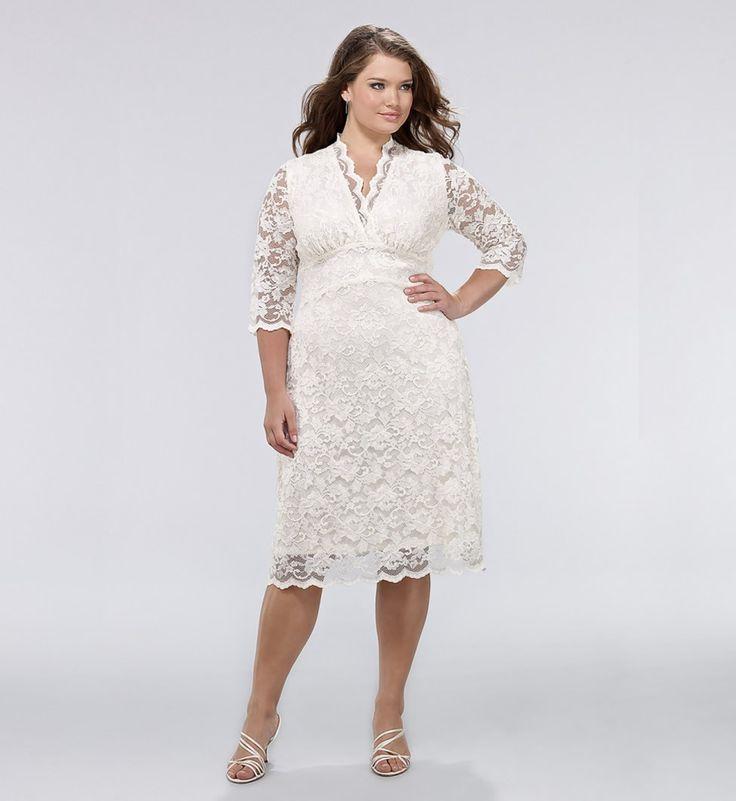 white plus size dresses 38 #plus #plussize #curvy | plus size