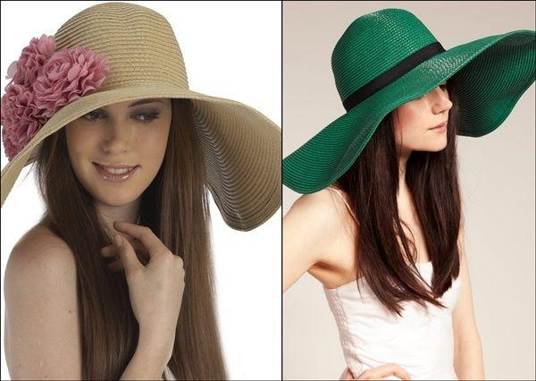 Летняя шляпка сочетается практически с любой одеждой и очень органично вписывается в любой стиль.