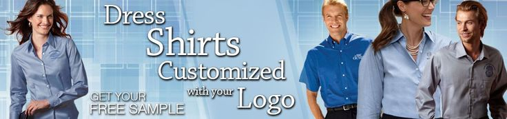 Embroidered Dress Shirts | Logo Embroidery Men's Ladies