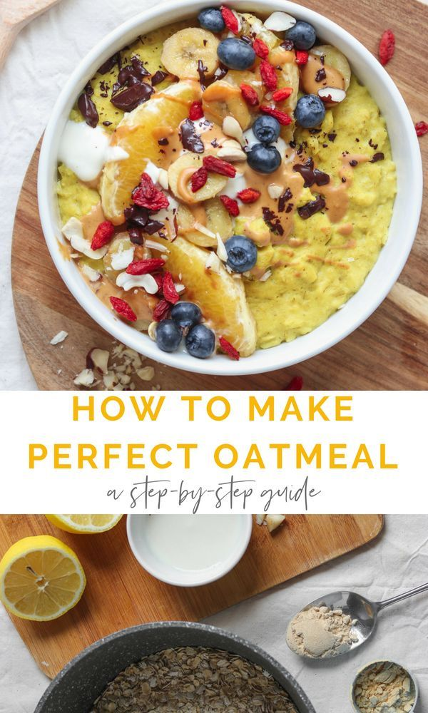 How To Make Perfect Vegan Oatmeal A Step By Step Guide Earth Of Maria Recipe Vegan Oatmeal Recipes High Protein Vegan Recipes