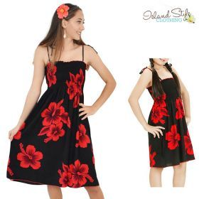 d6fb18ee5c8a Blue Hibiscus Mother Daughter Exact Matching Hawaiian Clothing Set  #matchymatchy #mommyandme #hawaiianstyle #blackwithredhibiscusprints  #hawaiianpartyoutfit ...
