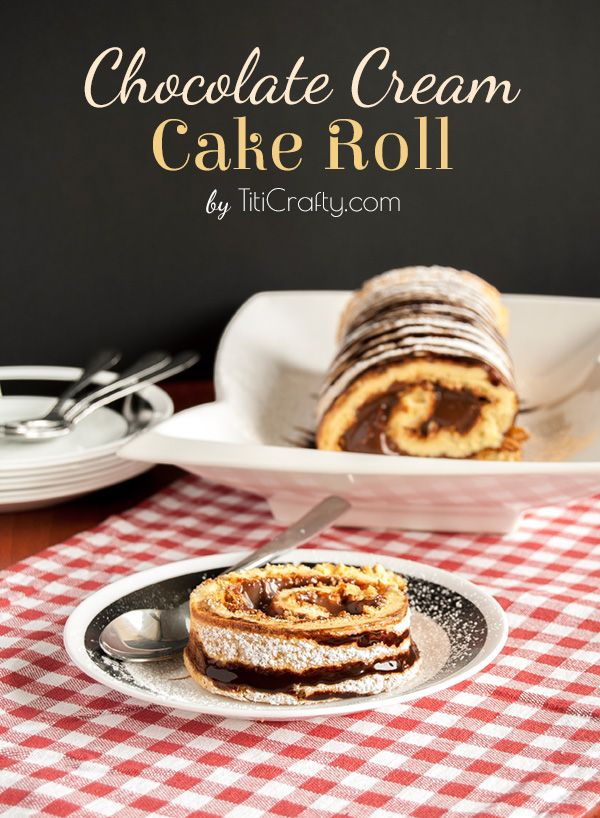 chocolate cake roll recipes dishmaps heavenly chocolate cake roll ...