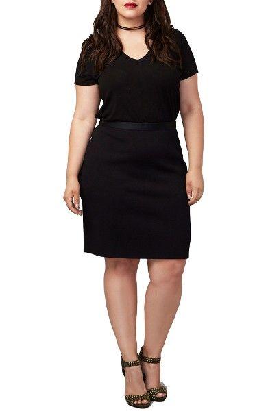 Main Image - RACHEL Rachel Roy Parker Skirt (Plus Size)