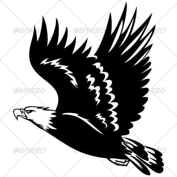 Bald Eagle Stencil
