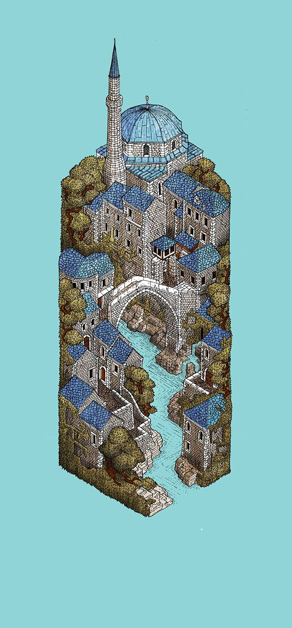 Mostar on Behance