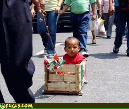 Redneck Baby Stroller